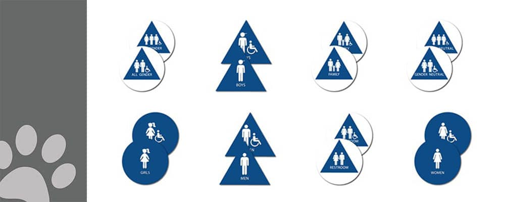 mystery of ca title 240restroom door signs featured image 1000px 400px 1 1 : alpha dog ada signs