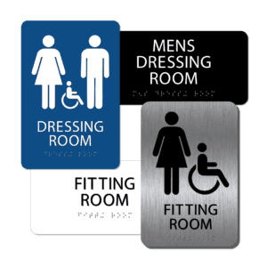 Dressing / Fitting Room Signs
