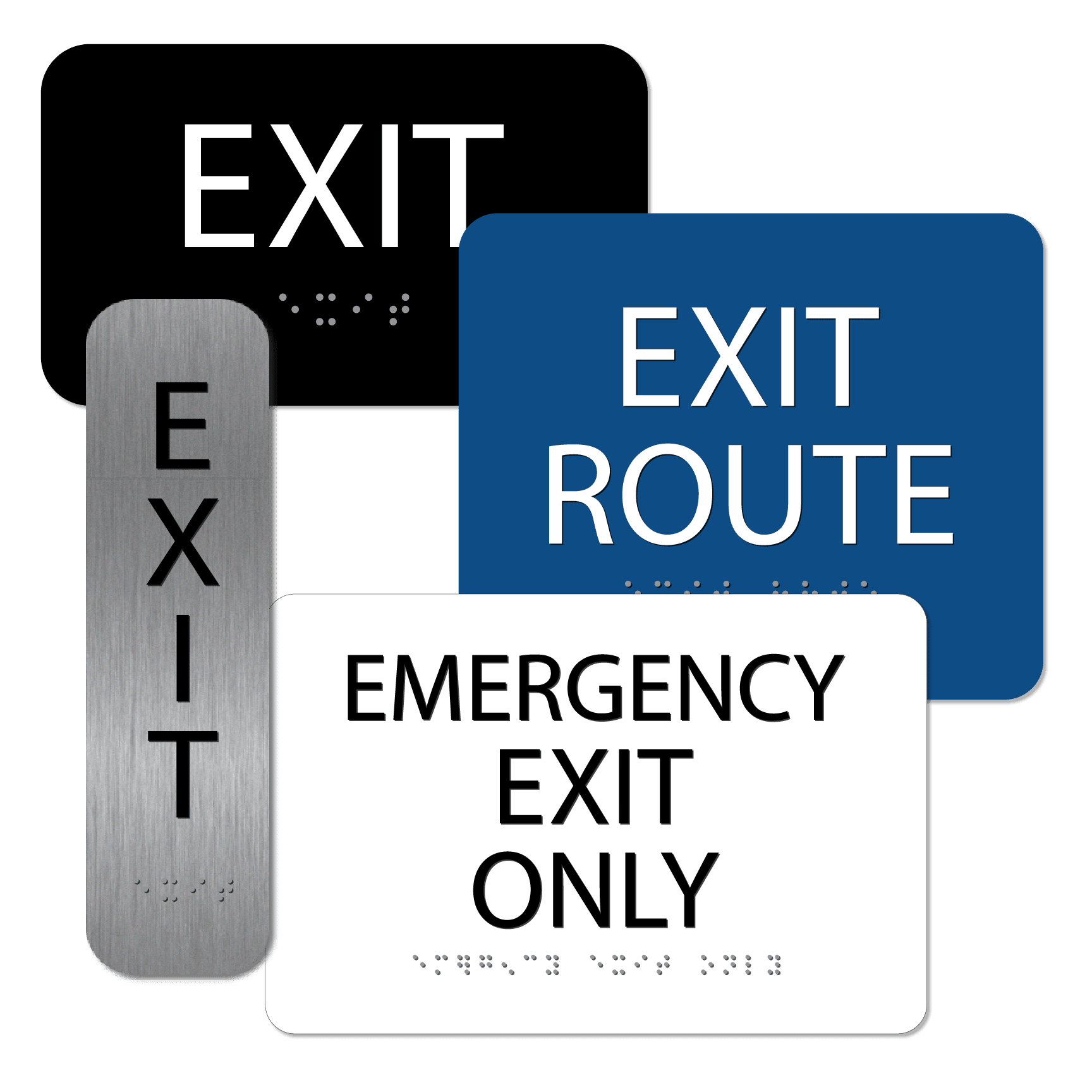 Exit 01 : alpha dog ada signs