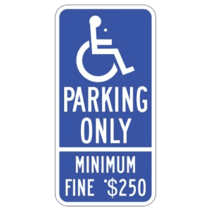 ADA Handicap Parking Signs