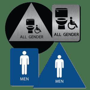 Bathroom Sign Bundles